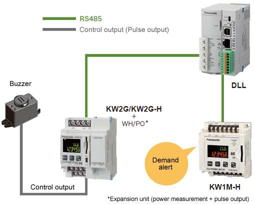 循环输出应用事例:需量报警时蜂鸣器响