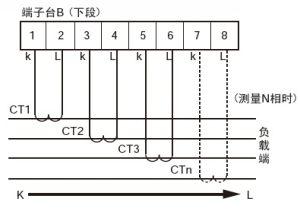如使用改进型,还可利用第四个CT测量N相。