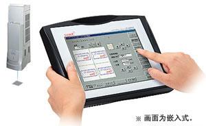 彩色LCD的触摸屏式控制台