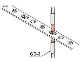 检测2个重叠的垫圈