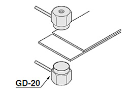 检测双层重叠金属板