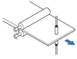 测量金属板厚度