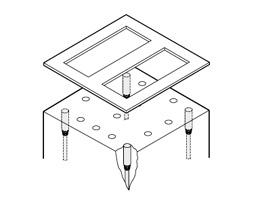 测量机架的平行度
