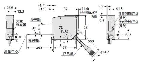 超高速激光位移传感器[ccd