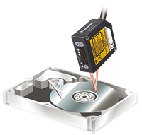 HDD的面板挠度测量