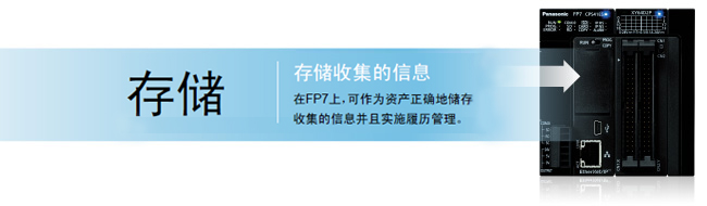 存储收集的信息 在fp7上,可作为资产正确地储存收集的信息并且实施履历管理。