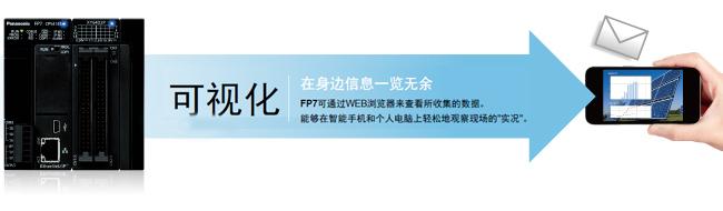 在身边信息一览无余 fp7可通过web浏览器来查看所收集的数据。 能够在智能手机和个人电脑上轻松地观察现场的