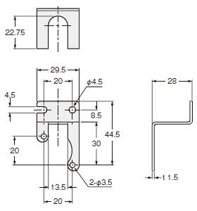 单画面99数字压力开关 dp-0 尺寸图 | 松下电器机电