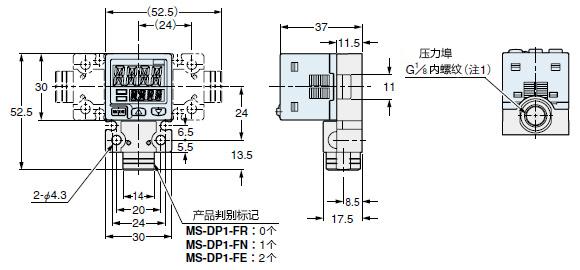 MS-DP1-FR/FN/FE
