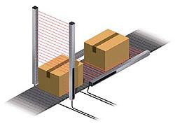 可進行豐富控制的單個光軸輸出型區域傳感器
