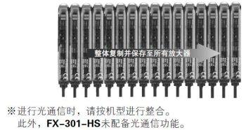 通过光通信功能,最多可同时调整16台传感器 [所有机型]