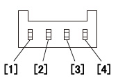 NPN输出型 端子分列图