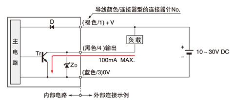 npn输出型 eq-34 输入输出电路图