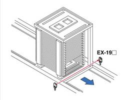 检测PCB架