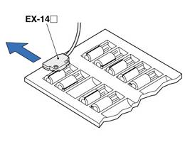 检测托盘上电容器的缺少