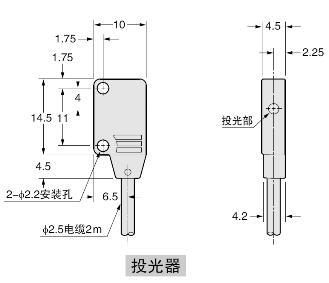 EX-11EA□ EX-11EB EX-13EA□ EX-13EB□ 投光器