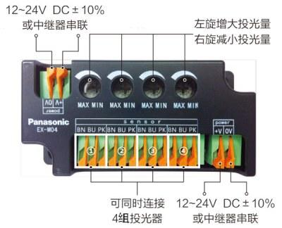 投光可调中继调节器