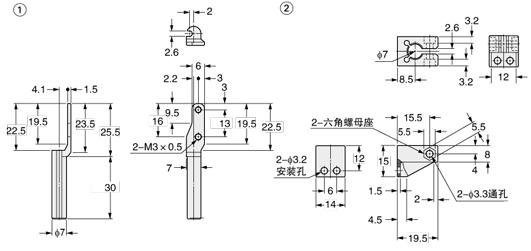 超小型光电传感器[放大器内置]