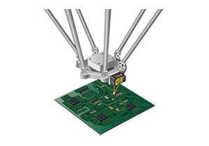 控制并联连杆机器人的高度
