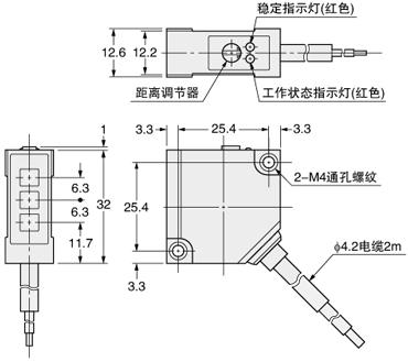 mq-2可燃气体传感器电路图