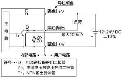 长距离光电传感器 nx-100回路99连接