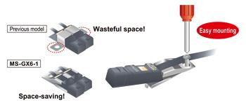 传感器易于设置 (GX-6型)