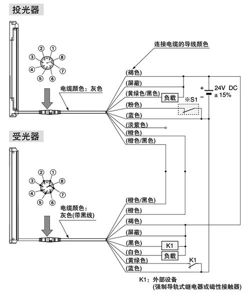 npn输出型 输入输出电路图