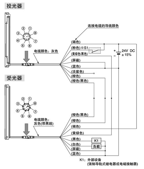 pnp输出型 输入输出电路图