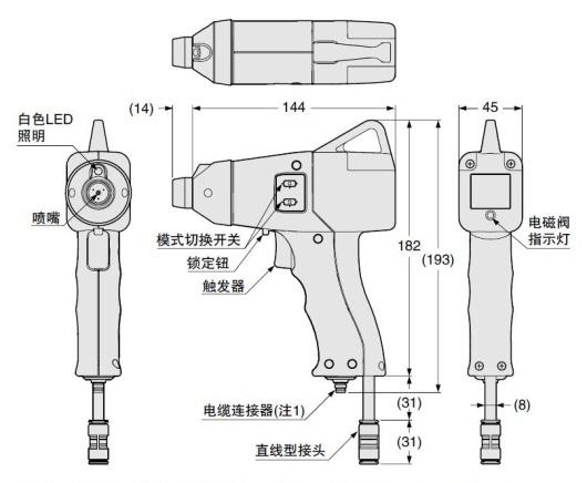 脉冲气枪式静电消除器