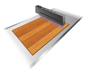 建材、木工品涂层的固化