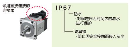 符合IP67電機